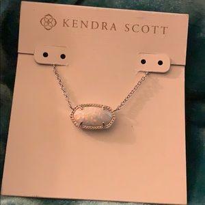 Kendra Scott Elisa necklace silver
